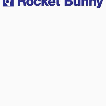 blue rocket bunny by bacarecyclage