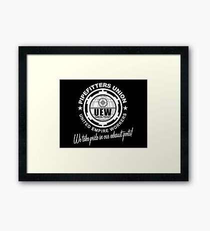United Empire Workers Union Framed Print