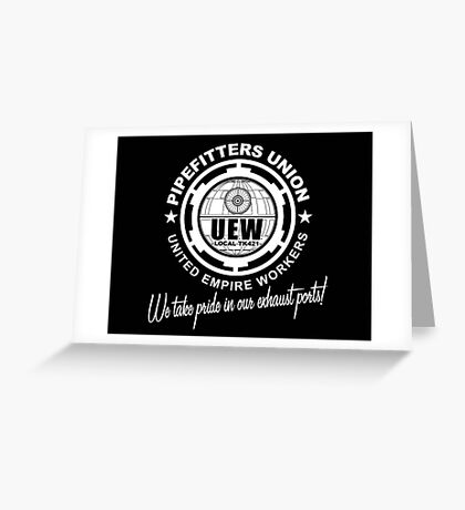 United Empire Workers Union Greeting Card