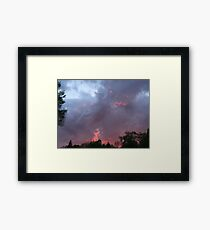 night changes, 2 Framed Print