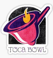 Toca Bowl Sticker