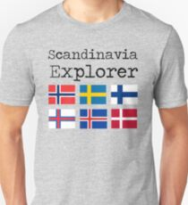 Skandinavien Explorer Slim Fit T-Shirt