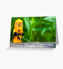 Hazmat Dude Greeting Card