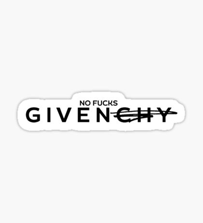 givenchy Sticker