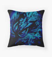 Enhanced Chasm Throw Pillow