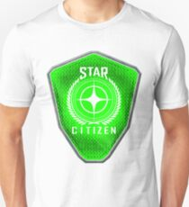 Star Citizen Logo - Lime Green T-Shirt
