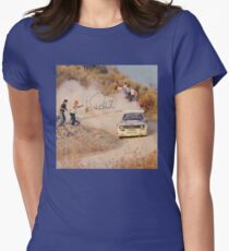 Audi Quattro Women's Fitted T-Shirt