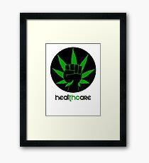Healthcare THC Framed Print