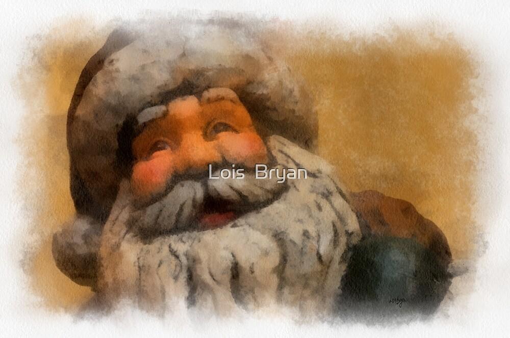Merry Christmas Santa by Lois  Bryan