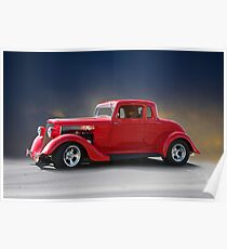 1933 Plymouth Coupe Poster