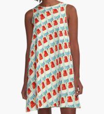 Bomb Pop Pattern A-Line Dress