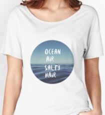 Ocean Air Salty Hair Women's Relaxed Fit T-Shirt