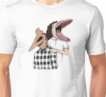 Family Portrait Of The Recently Deceased Unisex T-Shirt