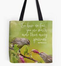 Matthew 10:31 Tote Bag