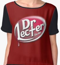 Dr. Lecter Chiffon Top