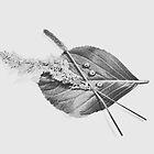 Leaf Collage by Michelle Walker