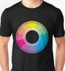 CMYK Wheel Unisex T-Shirt