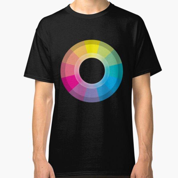 CMYK Wheel Classic T-Shirt