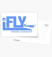 iFLY Cessna Aircraft Postcards