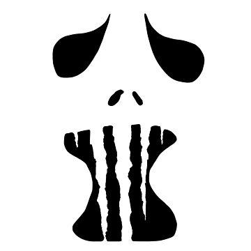 Spooky Face 1  by WerewolfCharmer
