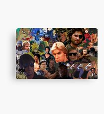 Manly Men For The Manliest  Canvas Print