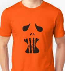 Spooky Face 1  Unisex T-Shirt