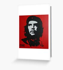 Red Che Greeting Card