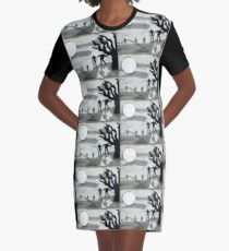 Zombies Graphic T-Shirt Dress
