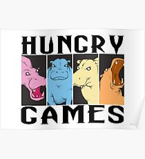 Hungry Hippo Games Poster