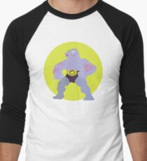 Machoke - Basic Men's Baseball ¾ T-Shirt