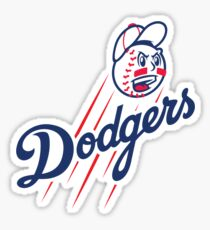 Dodgers - Angry Sticker