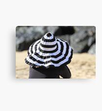 Beach Hat Canvas Print