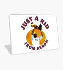 Just A Kid From Akron Laptop Skin