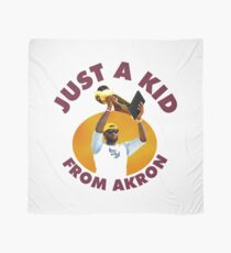 Just A Kid From Akron Scarf