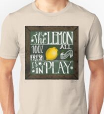 The lemon is in play! Unisex T-Shirt