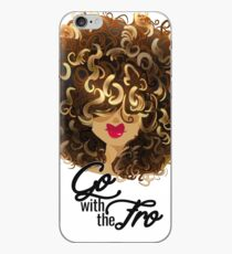 Go with the Fro iPhone Case
