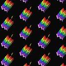Struck By Rainbow by CreativeEm