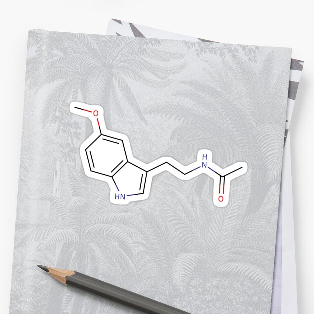 Melatonin - Chemical structure by gurnarok