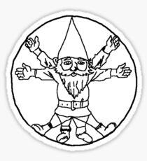 Gnome of Vitruvius Sticker
