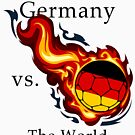 World Cup - Germany Versus the World Flaming Football by pjwuebker