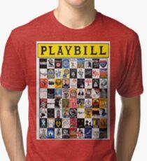 Playbill Design Tri-blend T-Shirt