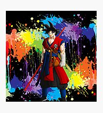 I Am Goku Photographic Print