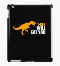 trex humor iPad Case/Skin