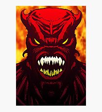 Demon Inferno Photographic Print