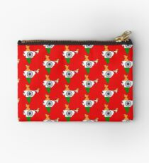 India Map With Indian Flag Studio Pouch