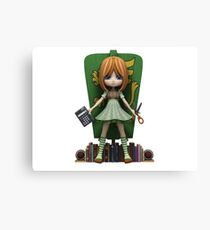Mel is one smart cookie Canvas Print