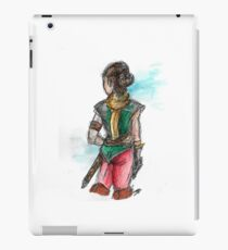 Lady adventurer iPad Case/Skin