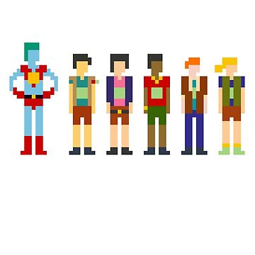 Captain Planet and the Pixelteers by jjjjesse