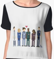 Everybody's Favorite Doctors. Chiffon Top