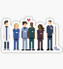 Everybody's Favorite Doctors. Sticker